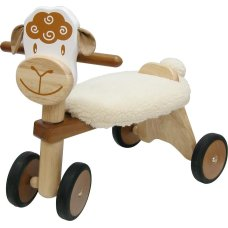 I'm Toy balance bike Sheep Brown