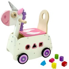 I'm Toy Loopwagen Eenhoorn with swing function