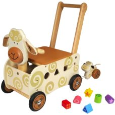 I'm Toy Carriage Sheep Brown