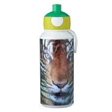 Drinking Bottle Campus Pop-Up 400 ml Animal Planet Tiger Green