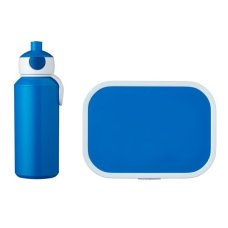 Drinking Bottle and Lunch Box Campus Blue