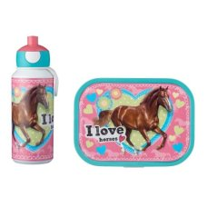 Drinking Bottle and Lunch Box Campus My Horse