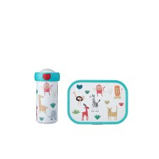 Mepal school cup and lunch box Animal Friends