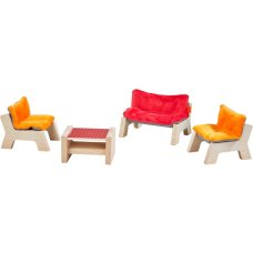 Haba Dollhouse furniture Living room