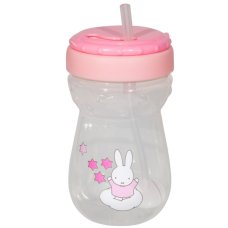 Miffy Straws Cup 360ml Pink