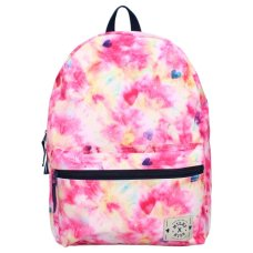 Milky Kiss children's backpack young, wild & free pink tie dye