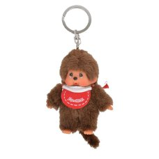 Monchichi keychain red Boy