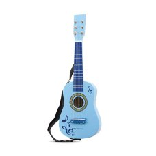 New Classic Toys Guitar Blue with Musical Notes