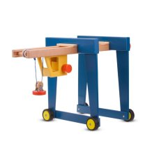New Classic Toys Container Crane on Wheels