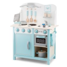 New Classic Toys Kitchen Bon Appetit Blue with White
