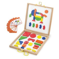 New Classic Toys magnetic shapes and box