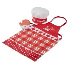 New Classic Toys Apron Red