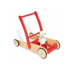 Pinolino wooden trolley Uli red