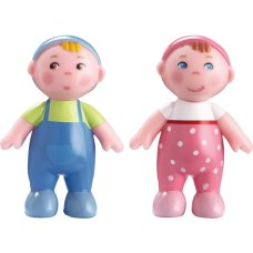 Haba Poppenhuis Doll baby Marie and Max