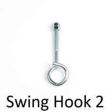 Purple Frog Swing hook Bolt with Nuts