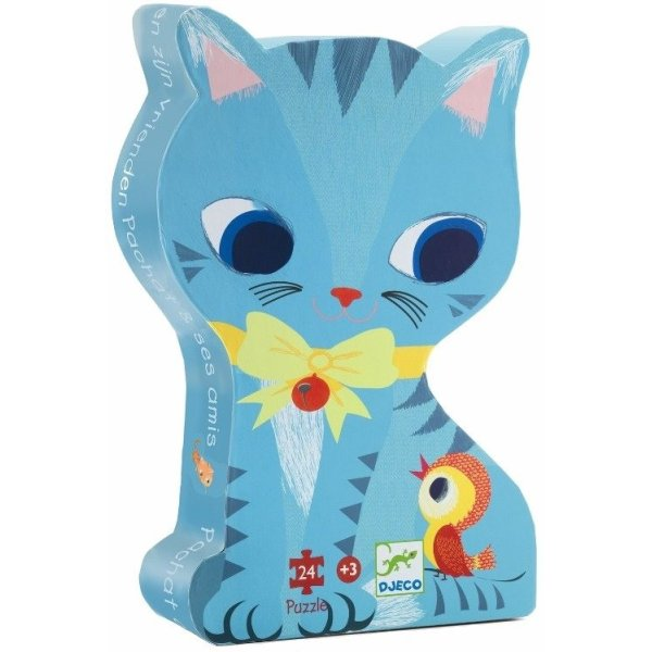 Djeco puzzle Cat Pachat with Friends