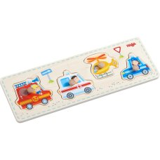 Haba Inlay puzzle Auxiliary vehicles