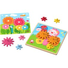 Haba Gear Puzzle Animals in the Garden