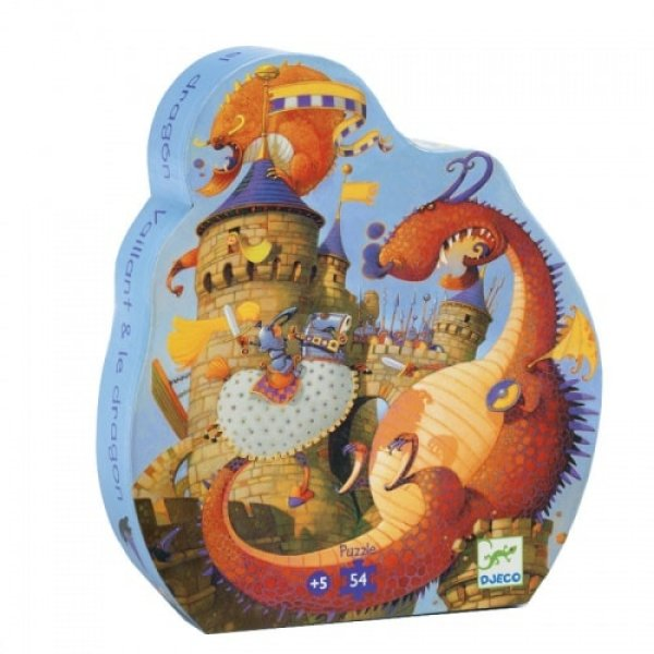Djeco Puzzle Knight and the Dragon
