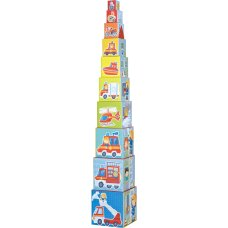 Haba stacking tower fire brigade