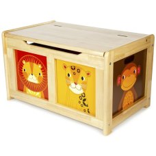 Tidlo Toy Box Jungle Natural