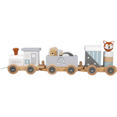 Tryco wooden toy train