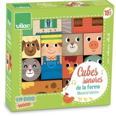 Vilac Musical Farm Blocks