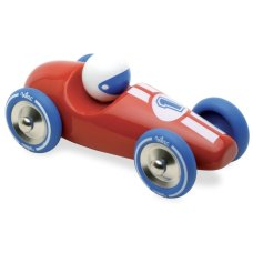 Vilac Wooden Race Car Red