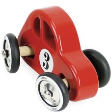 Vilac Wooden Sports Car Red