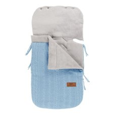 Baby's Only Footmuff Maxi Cosi Cable Baby Blue