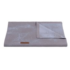 Babies Only Baby Blanket Marble cool gray / lilac