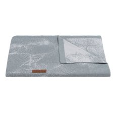 Babies Only Baby Blanket Marble gray / silver gray