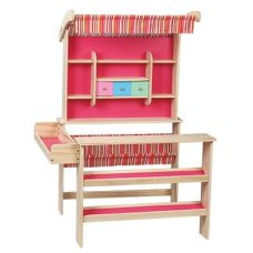 Playwood Wooden Store Pink (excluding accessories)
