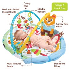 Yookidoo Play mat Gymotion Play N Nap