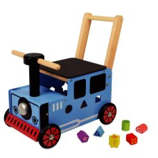 I'm Toy Carriage Train Blue
