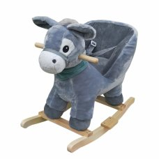 Tryco Rocking Animal Donkey Dark Gray