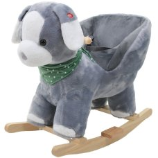 Tryco Rocking Animal Dog Dark Gray